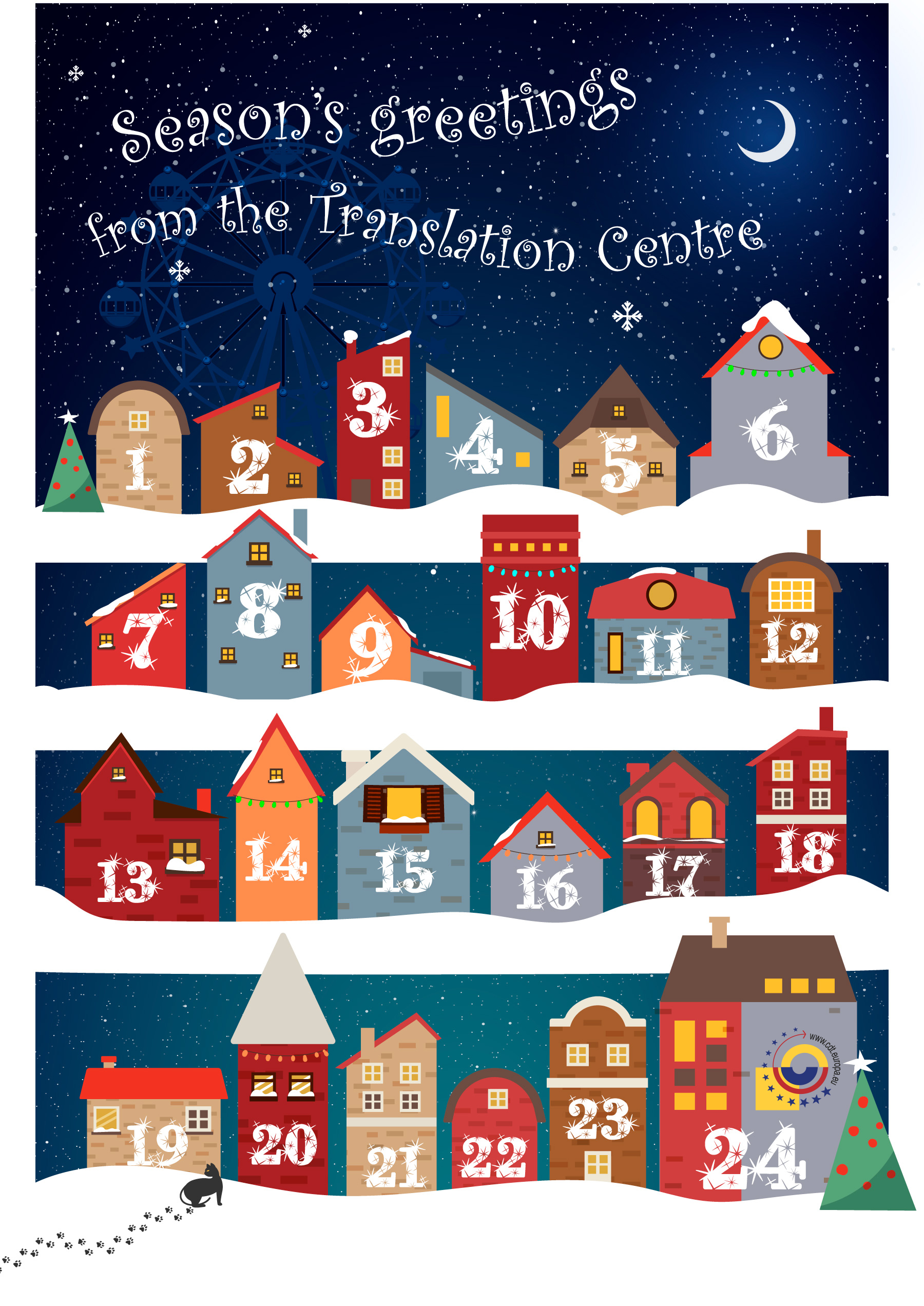 Enjoy listening to our advent calendar in 24 languages